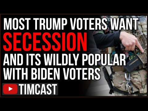 Majority Of Trump Voters Want Secession And 41% Of Biden Voters Agree, The Republic Is COLLAPSING