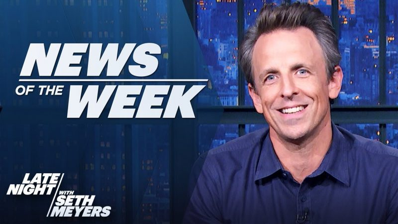 """Trump Listens to """"Cats,"""" Urges Texas to Audit 2020 Election: Late Night's News of the Week"""