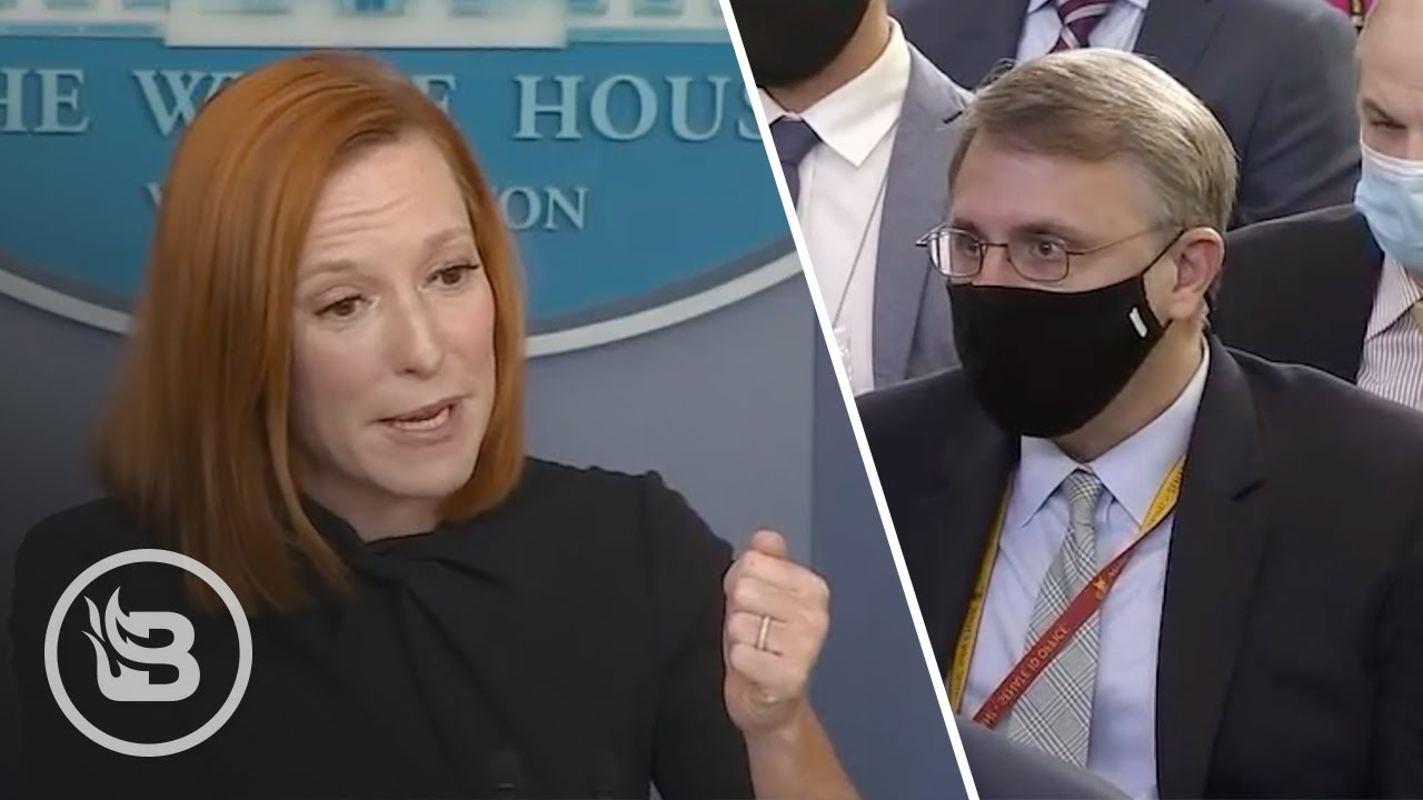 Psaki Freaks Out When NYT Reporter Compares Biden to Trump