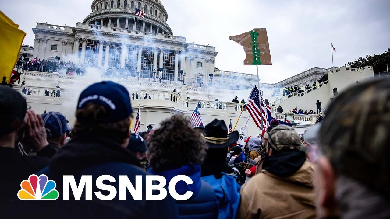New January 6 Tapes Reveal Trump Mob Attacking Police At Washington Monument