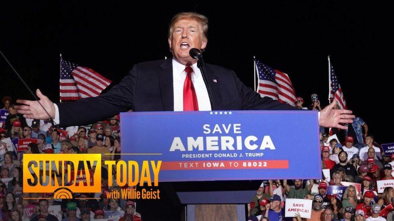 Trump Hints At 2024 Run As He Battles Jan. 6 Committee