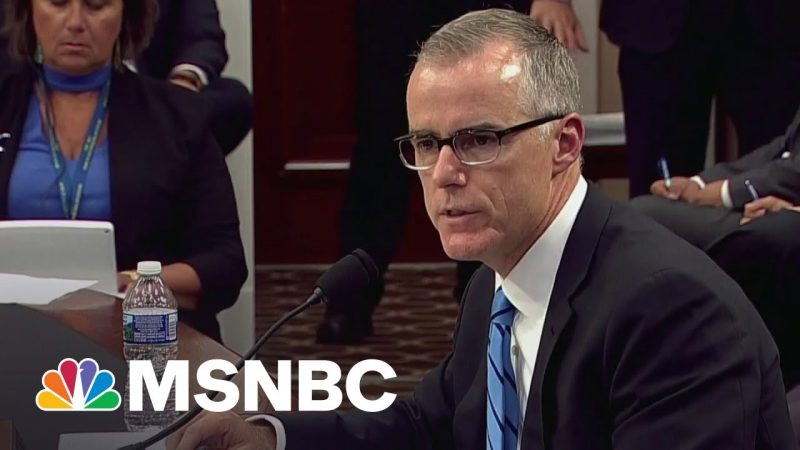 Former FBI Official Rectifies Petty Firing By Trump In Legal Settlement With DOJ